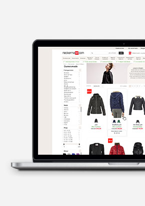 neckermann.com redesign